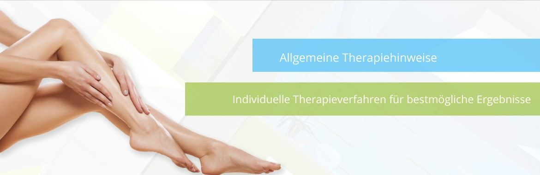 Allgemeine Therapie